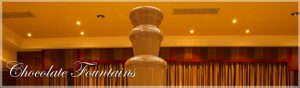 Chocolate Wedding Fountains