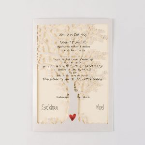 Ellie-May Handmade Wedding Invitation