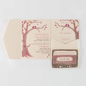 Lana Handmade Wedding Invitation