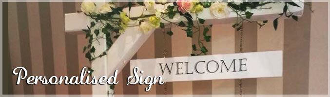 Personalised Wedding Sign, Donegal Ireland